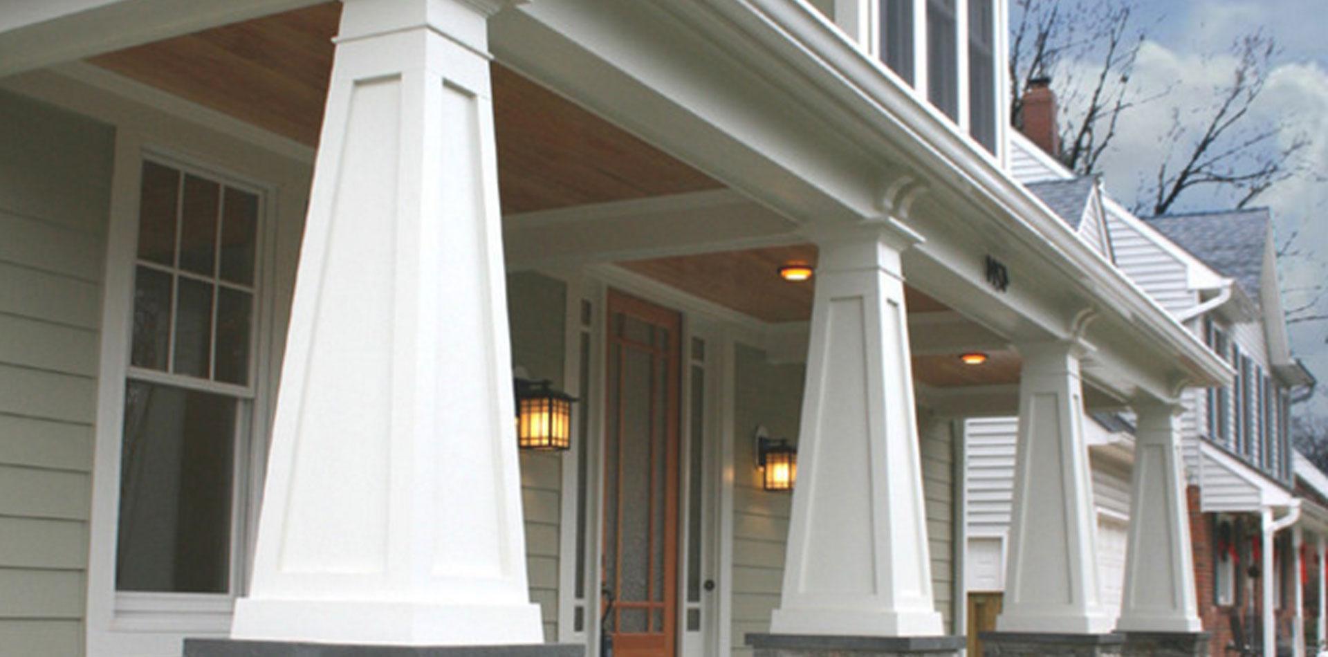 Craftsman style porch columns - Craftsman Style Porch Columns 28