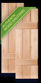 Wood Exterior Shutters   Exterior Wooden Shutters Pacific Columns ...