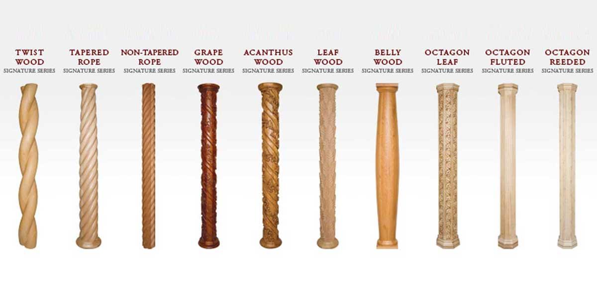 Signature Series Wood™ Columns